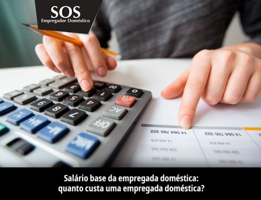 Salário ease da empregada doméstica