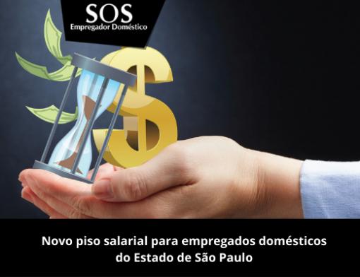 Novo piso salarial para empregados domésticos do Estado de São Paulo