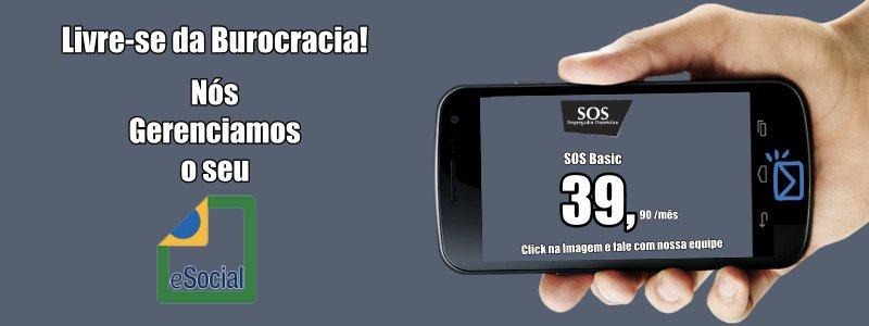 A SOS Gerencia o eSocial Doméstico para você