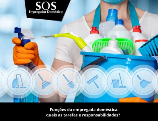 Quais as principais funções e tarefas da empregada domestica?
