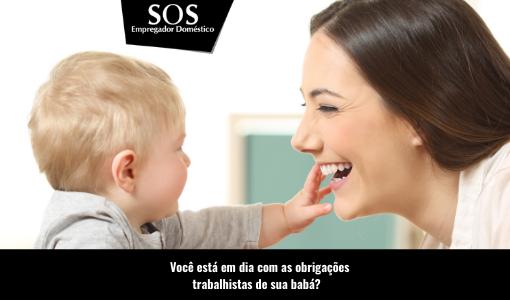 Direitos trabalhistas e previdenciários da babá