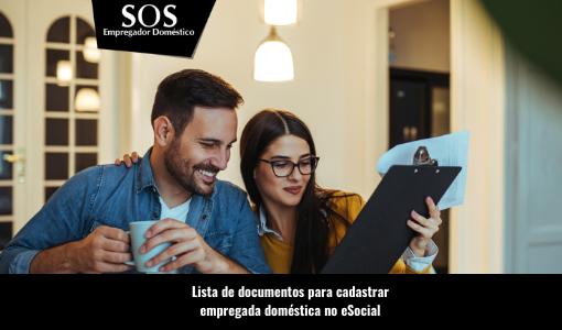 Lista completa de documentos para empregada no eSocial
